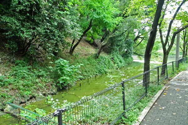 茶臼山水路